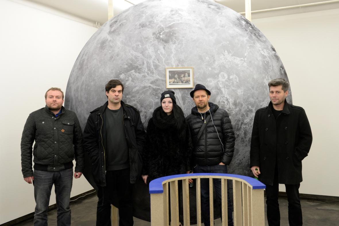 Rafani na výstavě Power v galerii Nevan Contempo