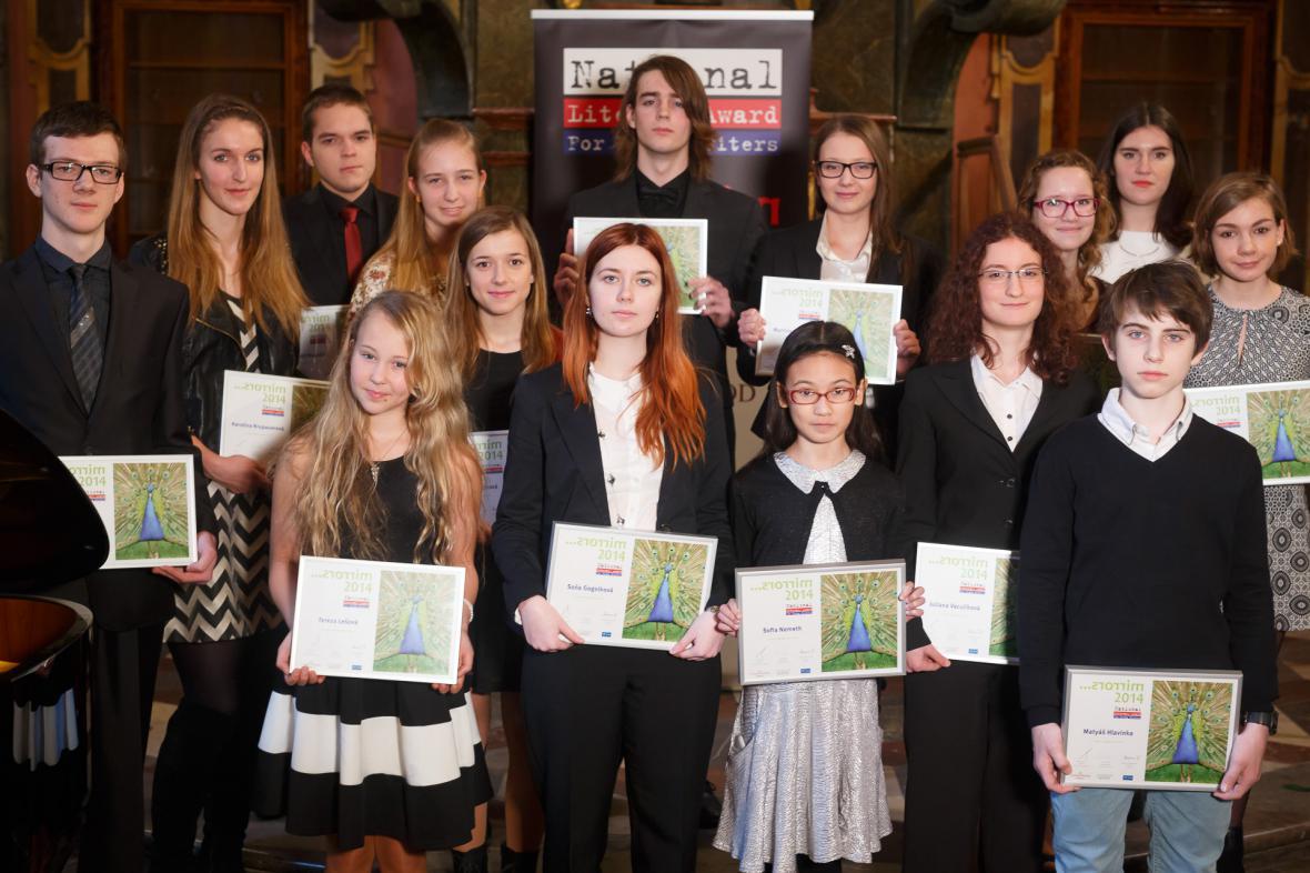Vítězové National Literary Award for Young Writers 2015
