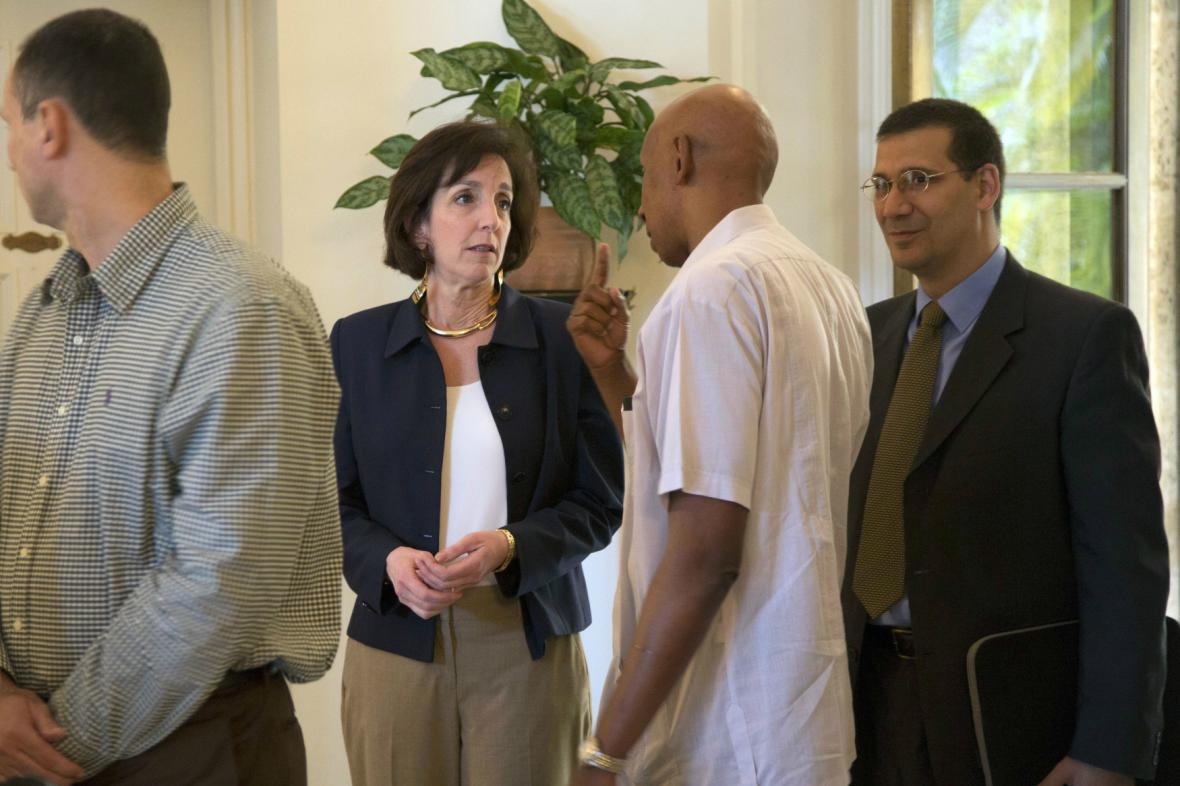 Roberta Jacobsonová se setkala s kubánskými disidenty