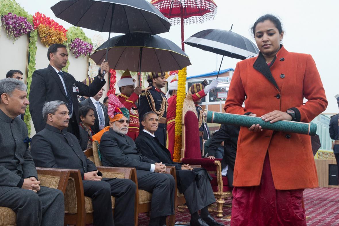 Barack Obama v Indii