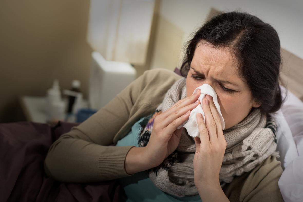 Koncem ledna stoupají počty nemocných