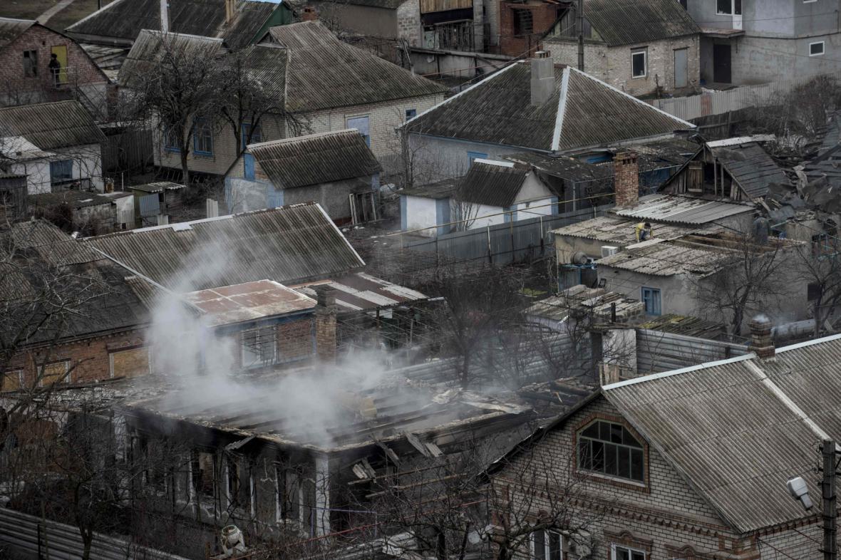 Důsledky bojů na Ukrajině