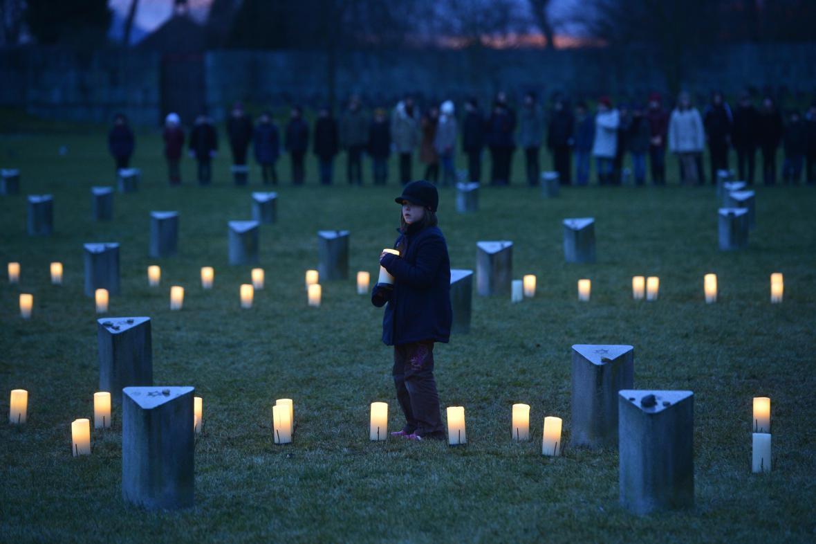 Pietní shromáždění v Terezíně