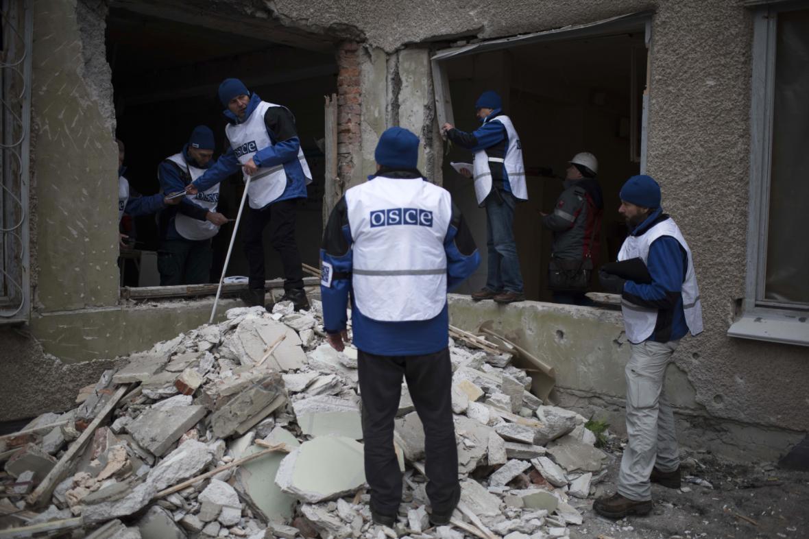 Pozorovatelé OBSE na Ukrajině