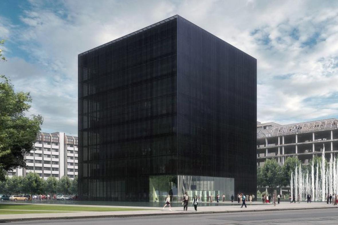 Návrh vědecké knihovny v Ostravě