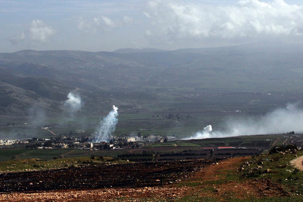 Boje na izraelsko-libanonské hranici