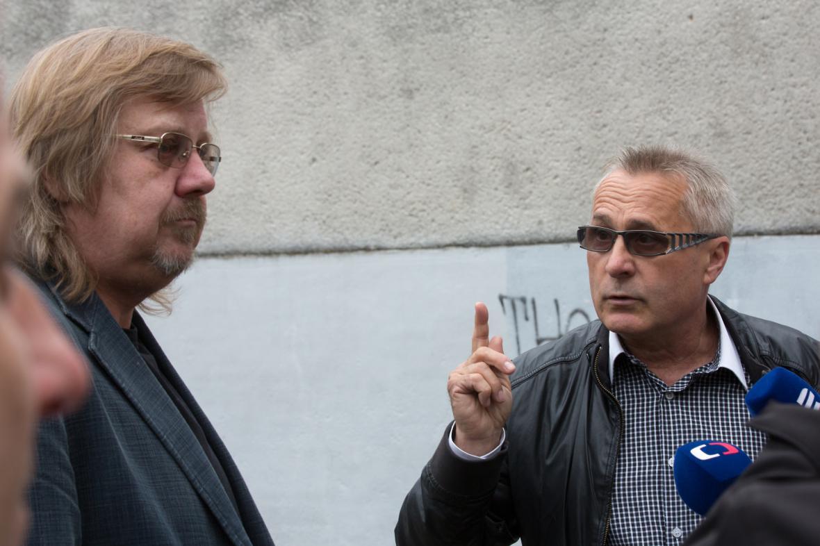 Jiří Baron (vlevo)