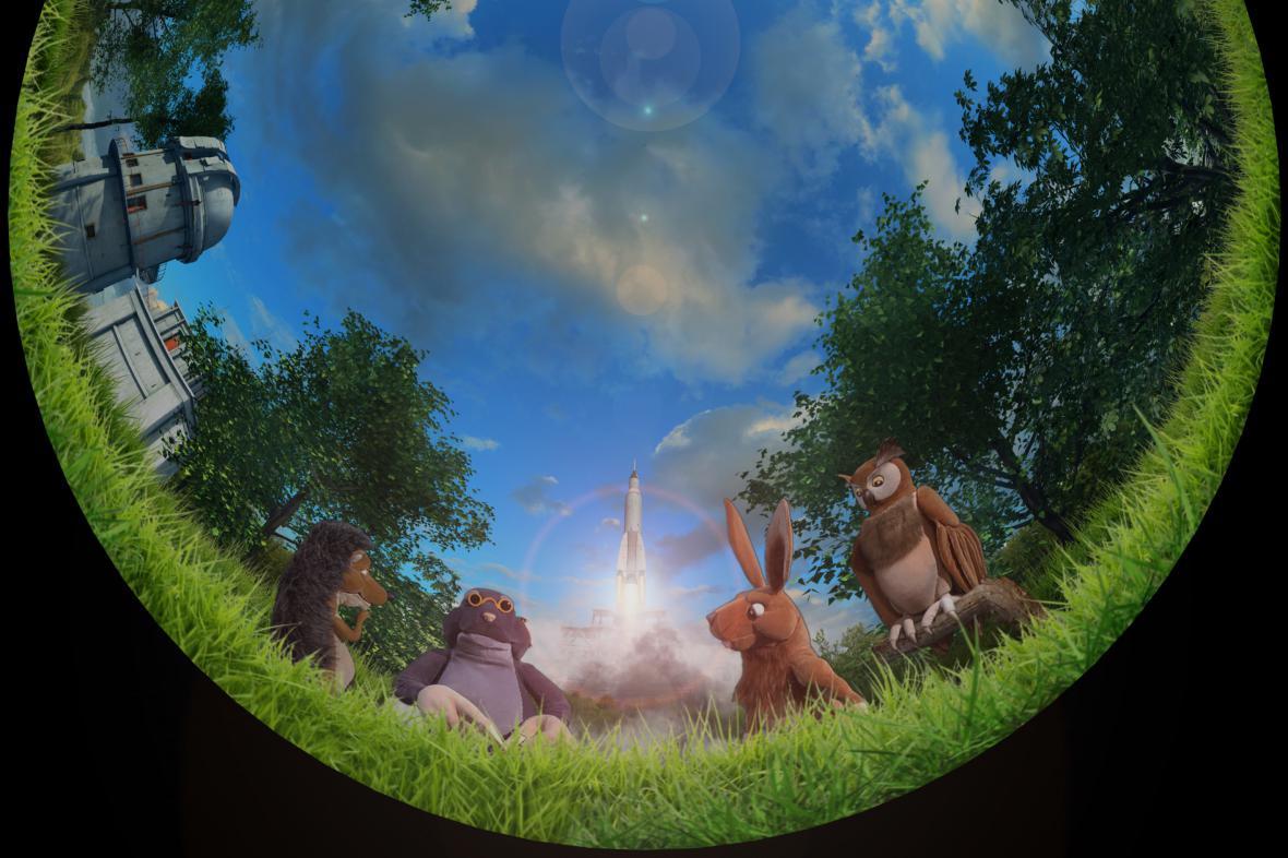 Film Se zvířátky o vesmíru