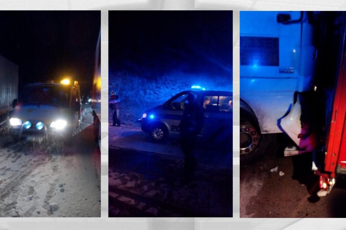 Hromadná nehoda zablokovala D1 směrem na Prahu