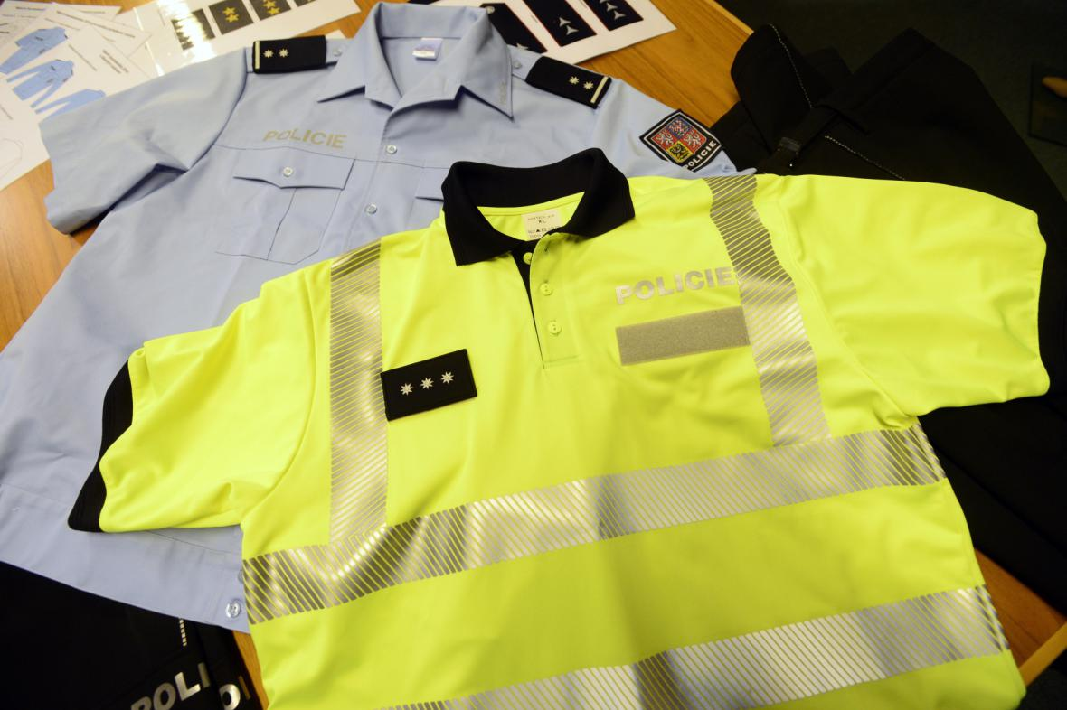 Nové uniformy pro policisty