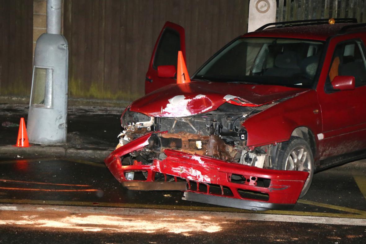 Dopravní nehoda v Děčíně