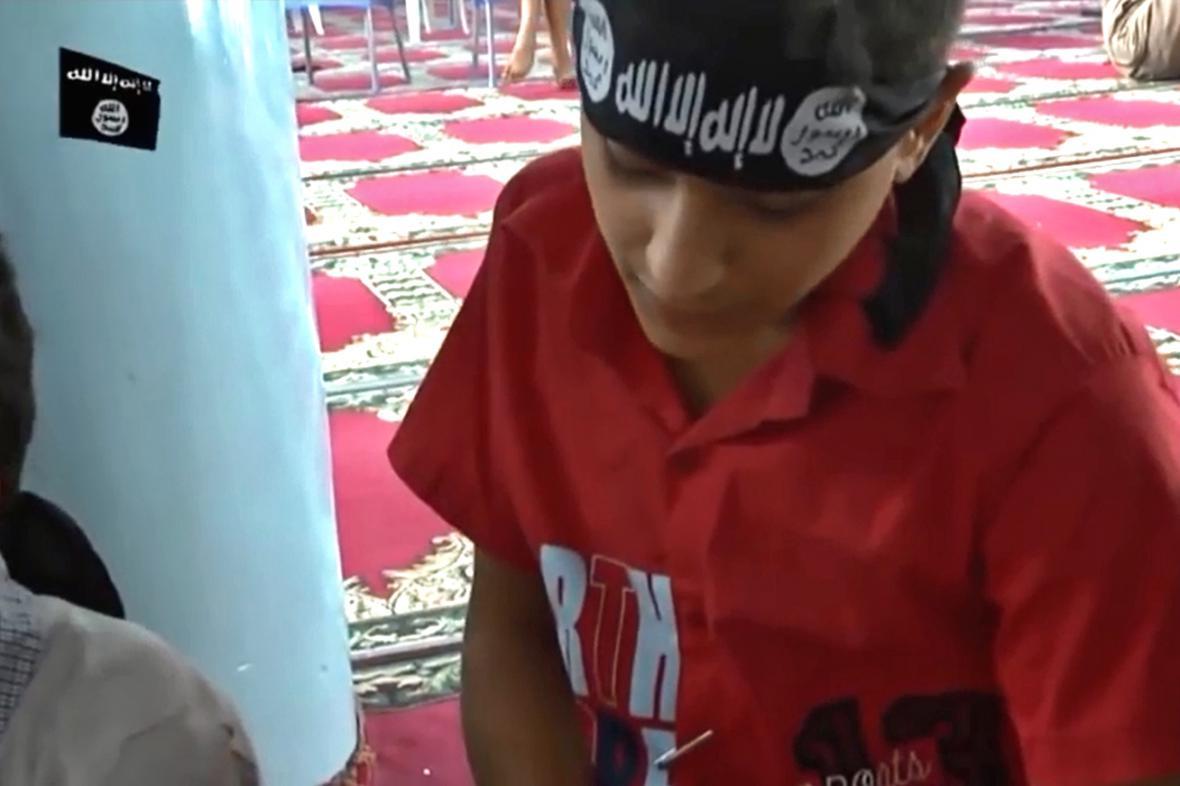 Děti ve službách Islámského státu