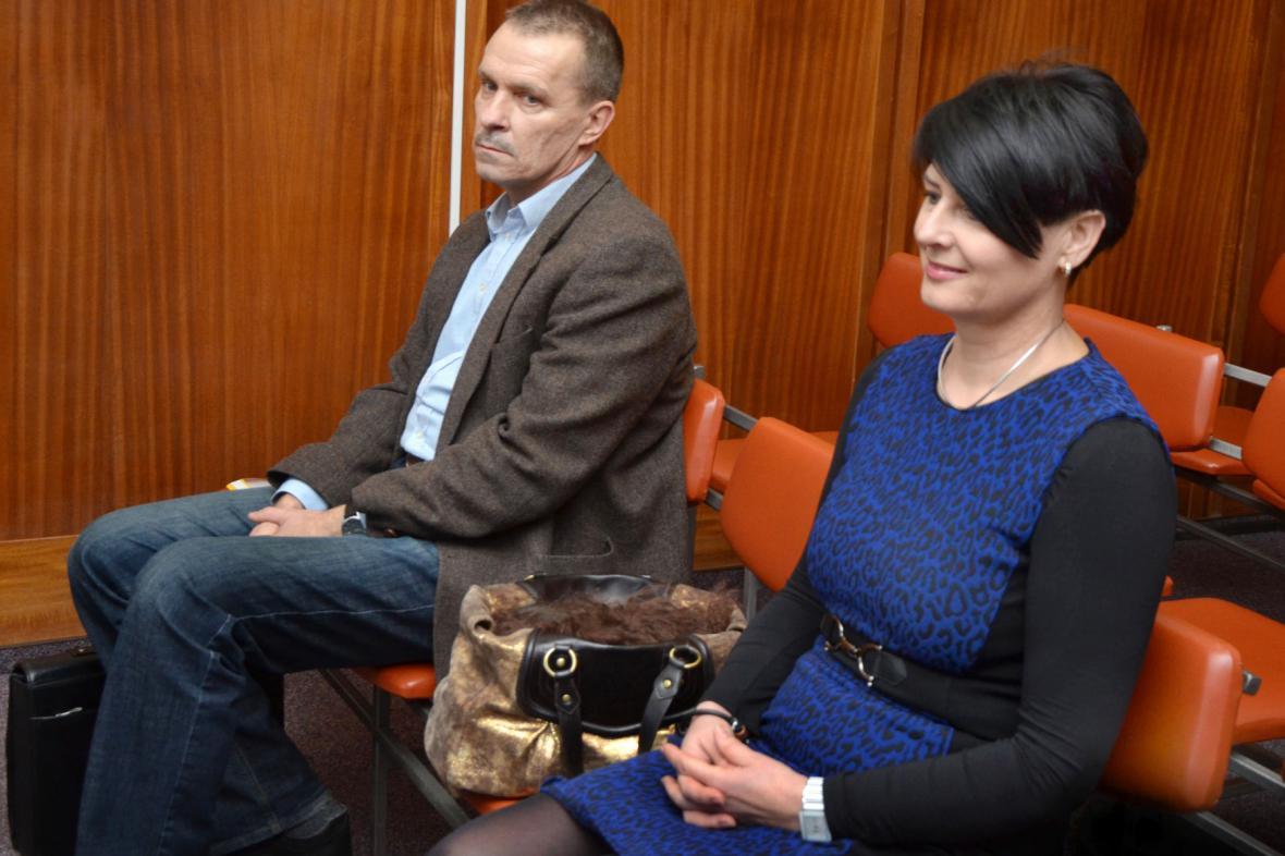 Jana Kaštilová-Tesařová a Jan Dostál