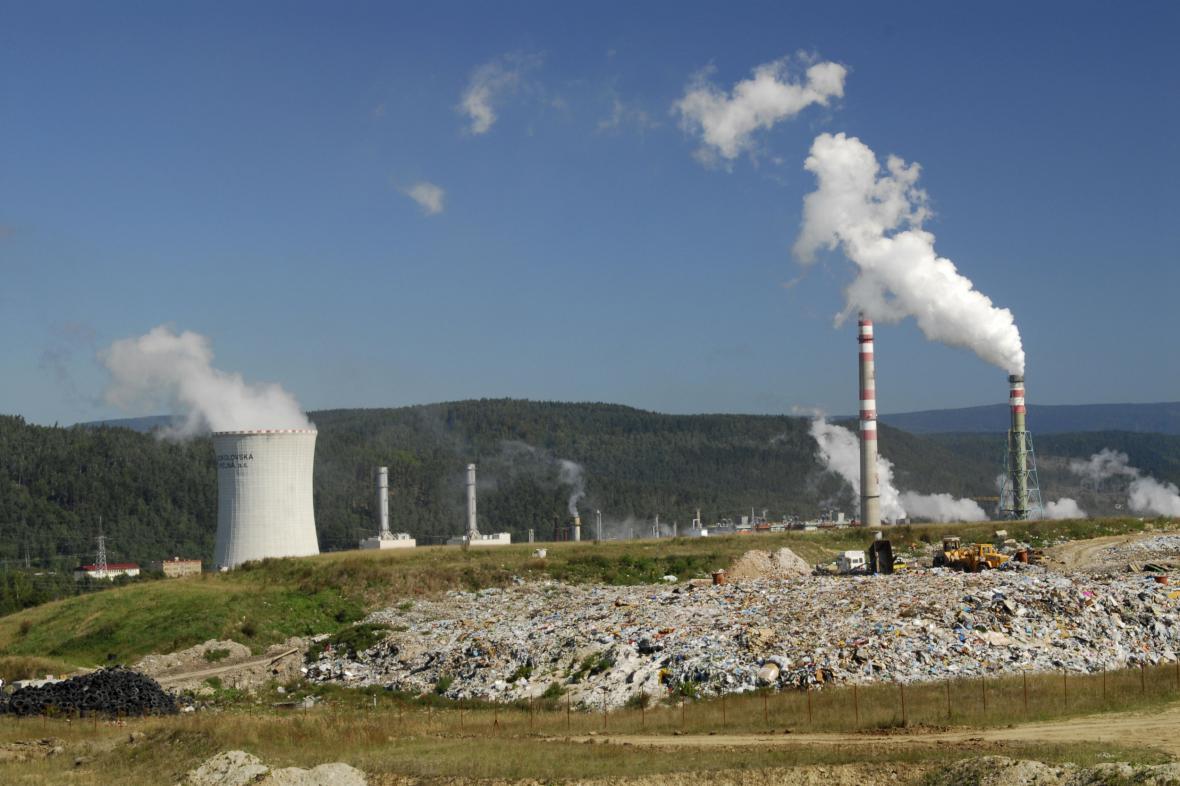 Česká paroplynová elektrárna Vřesová