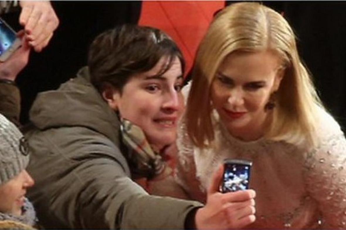 Selfie s Nicole Kidmanová