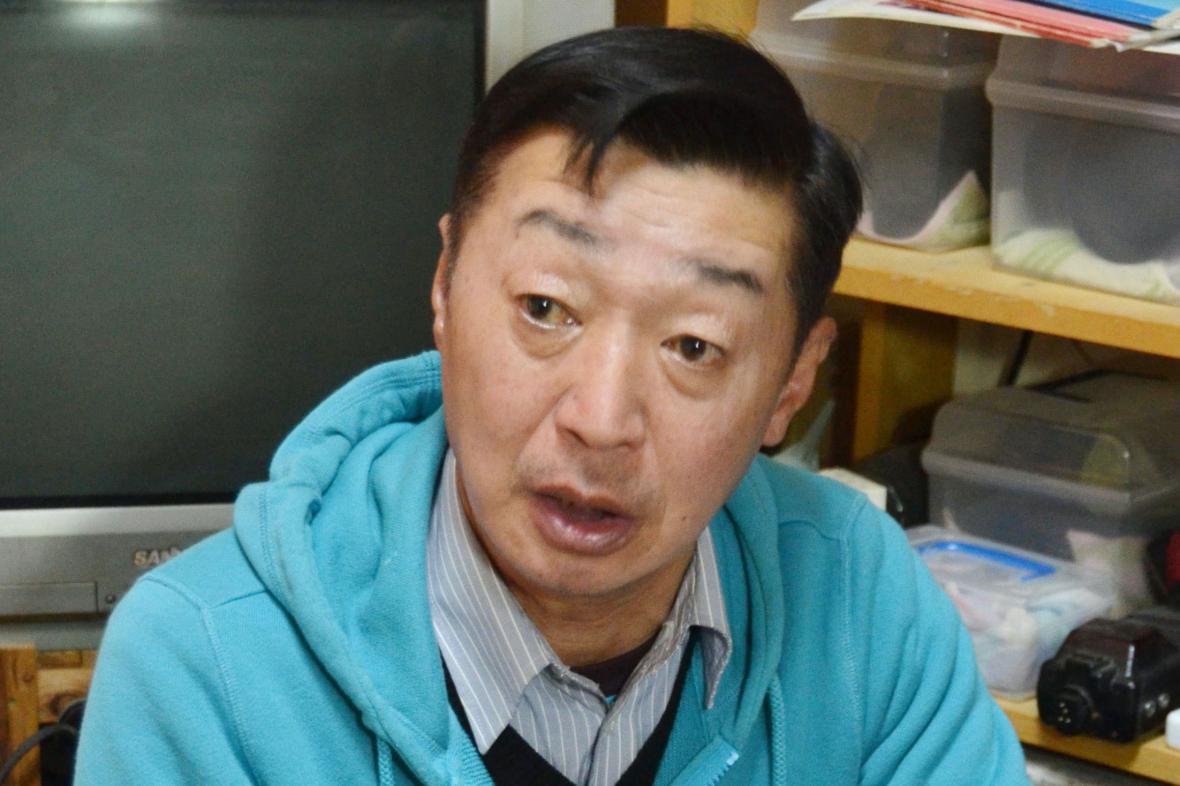 Japonský novinář Juičio Sugimoto