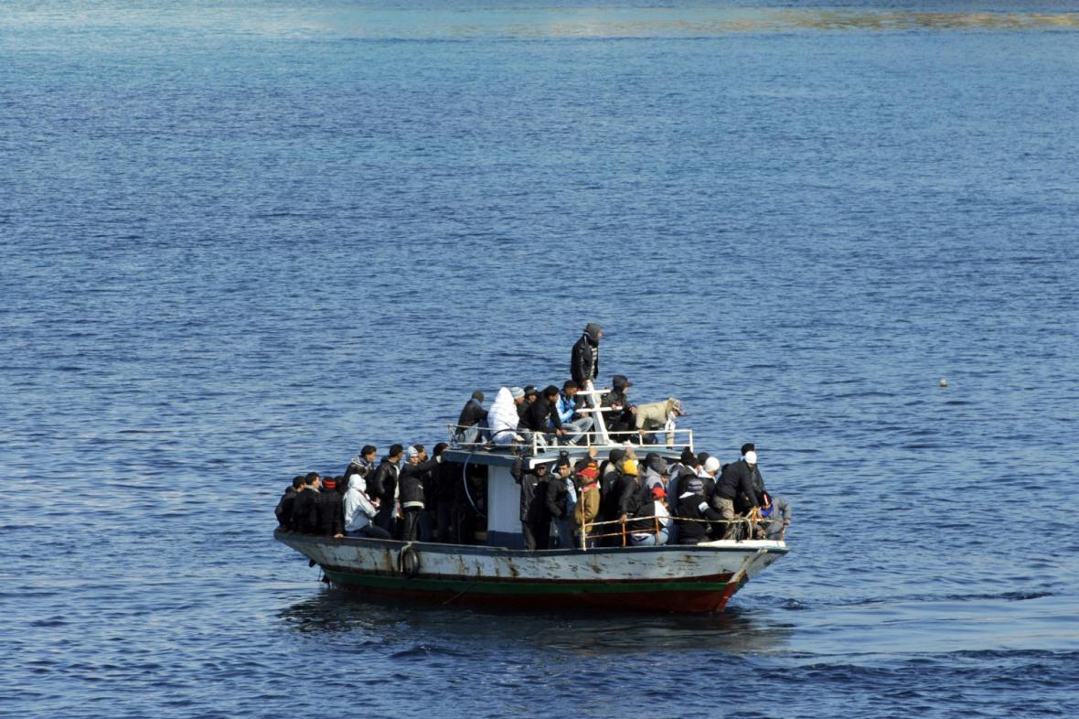 Imigranti u Lampedusy