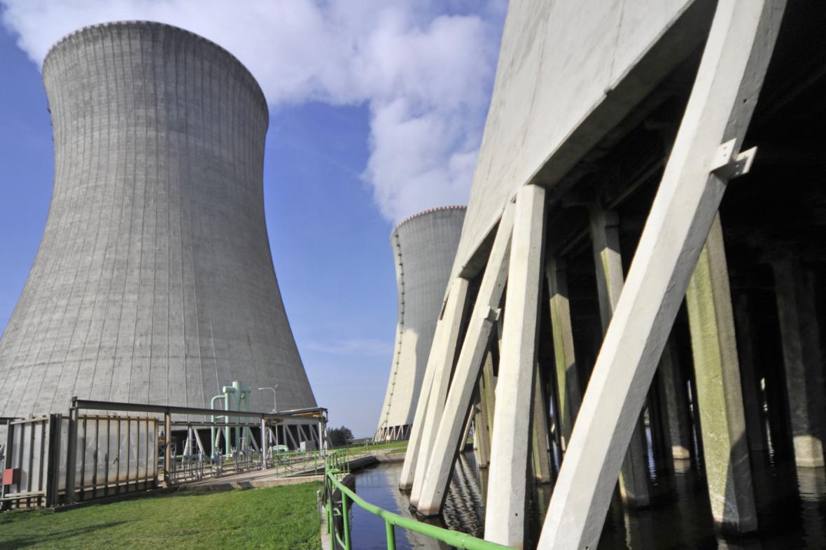Chladicí věž dukovanské elektrárny