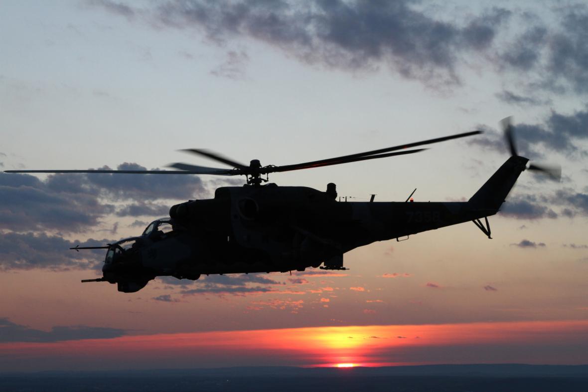 Bitevní vrtulník