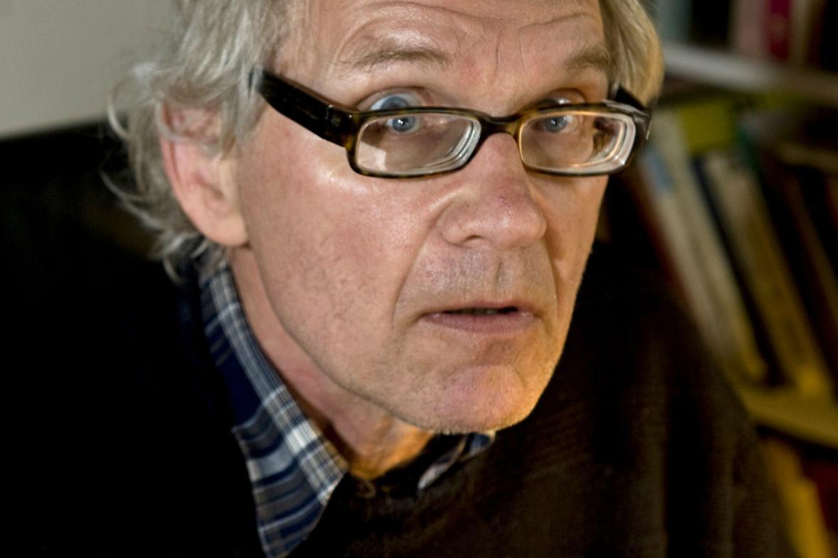 Švédský karikaturista Lars Vilks