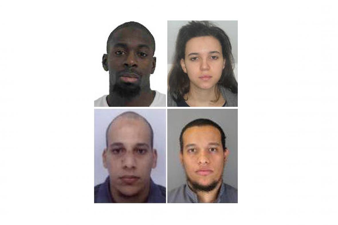 Bratři Kouachiové, Coulibaly a Boumeddienová