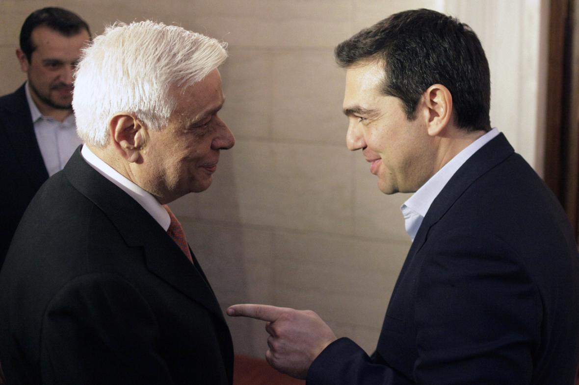 Prokopis Pavlopulos a Alexis Tsipras