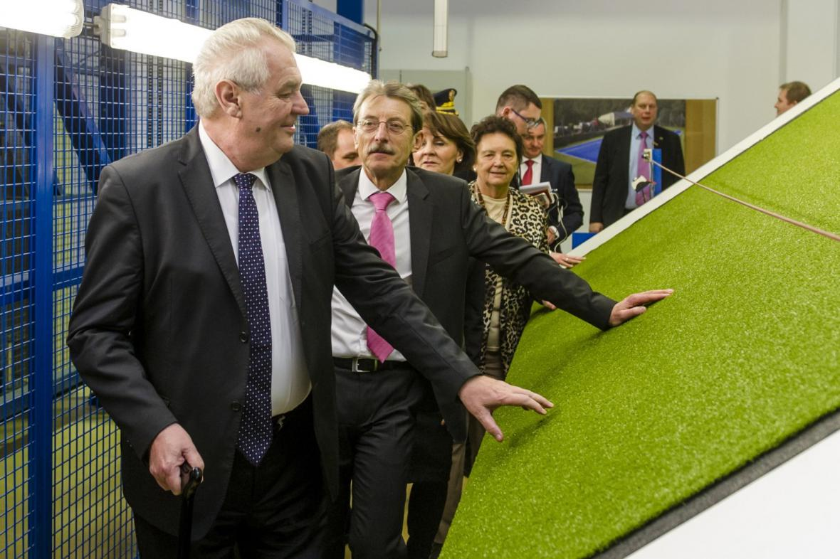 Prezident Zeman na Královehradecku