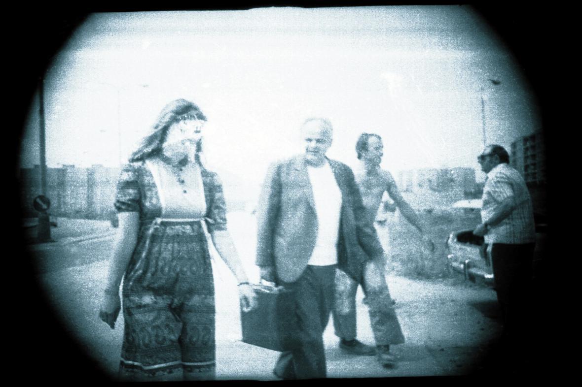 Fotografie z archivu StB - objekt Aida