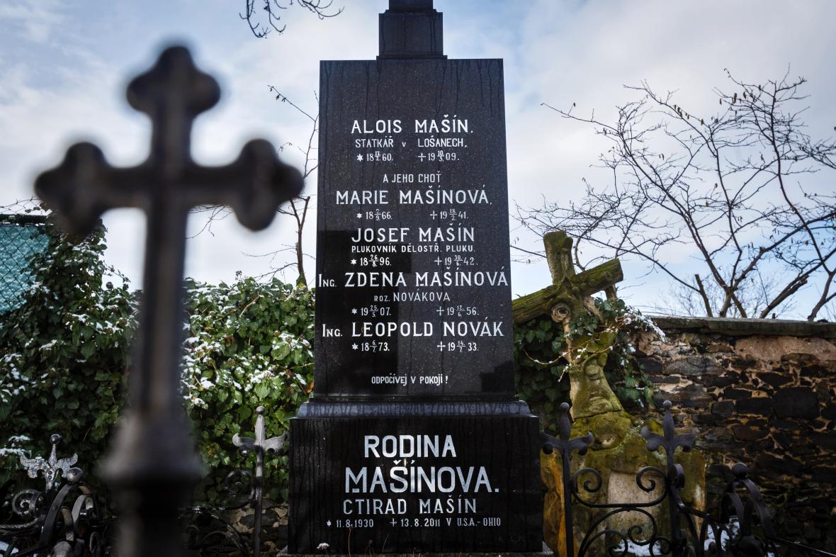 Hrob rodiny Mašínovy