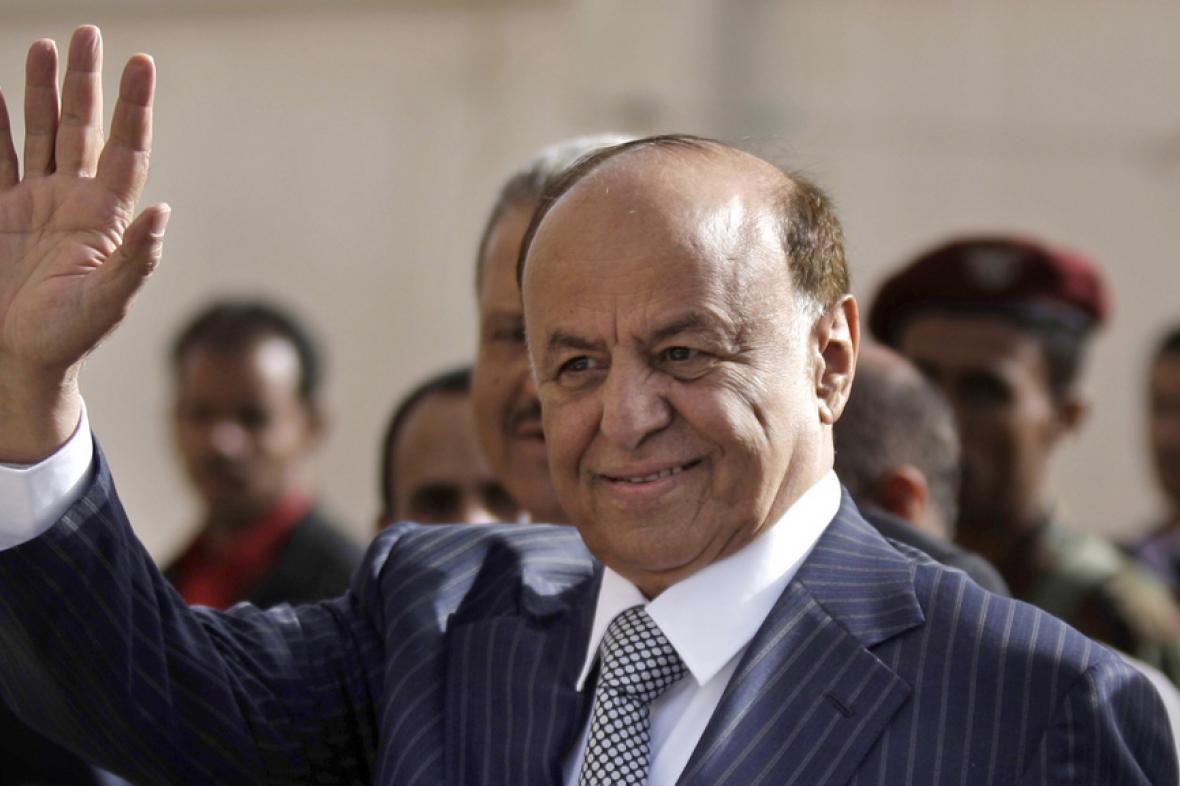 Jemenský prezident Abdar Hadí