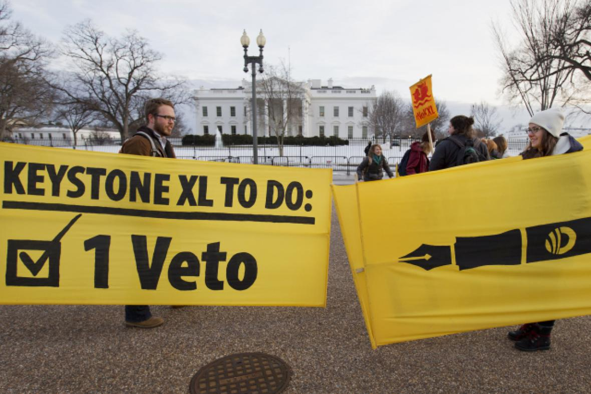 Prezident Obama vetoval zákon o ropovodu Keystone XL