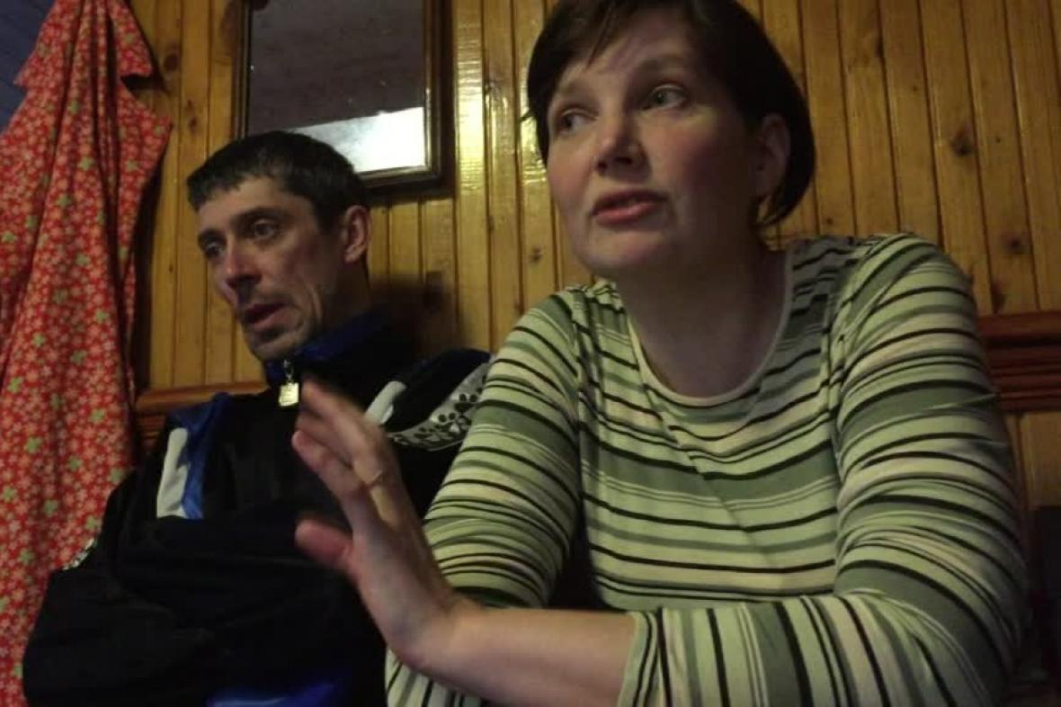 Uprchlíci z východní Ukrajiny