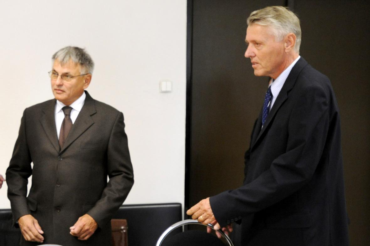 Jiří Kunát a Ladislav Nermuť