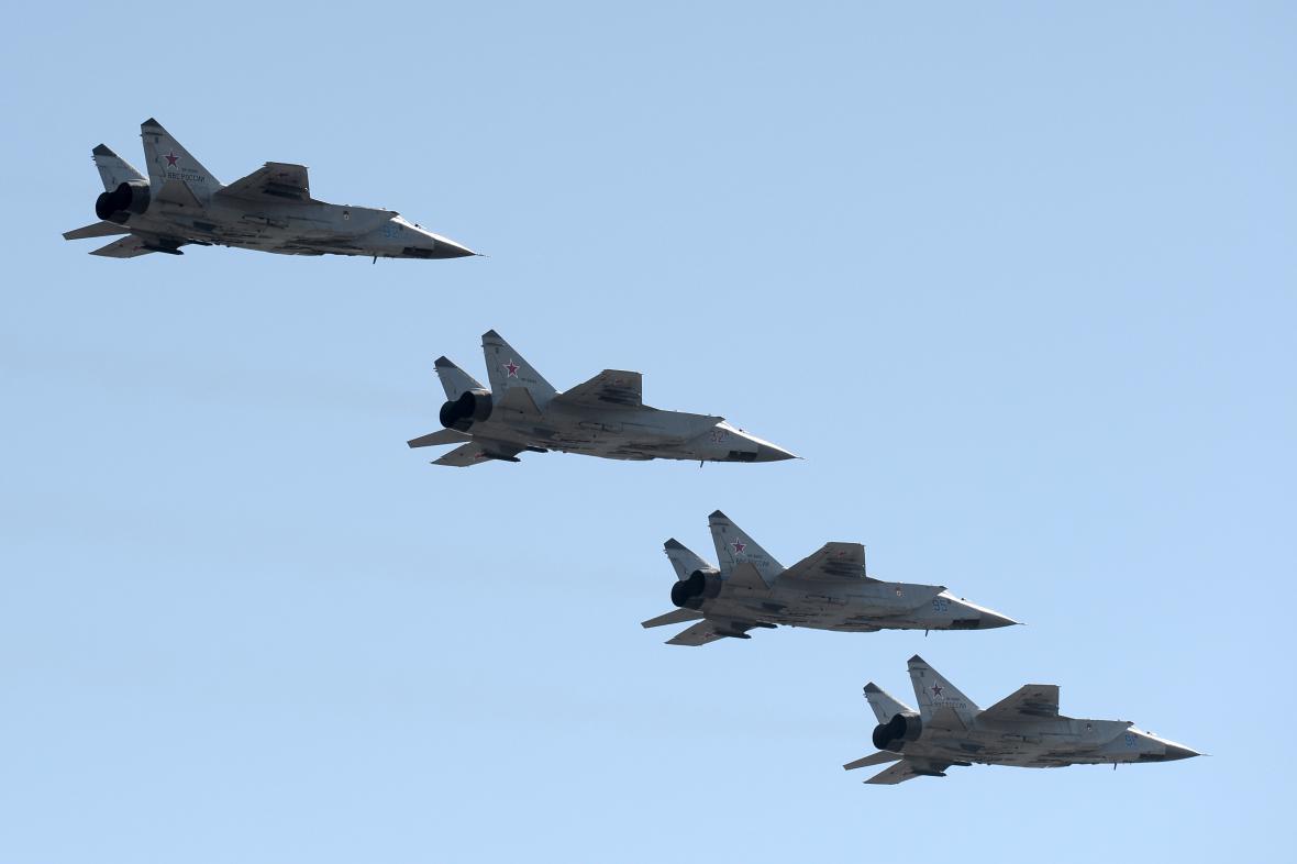 Ruské stíhačky MiG-31