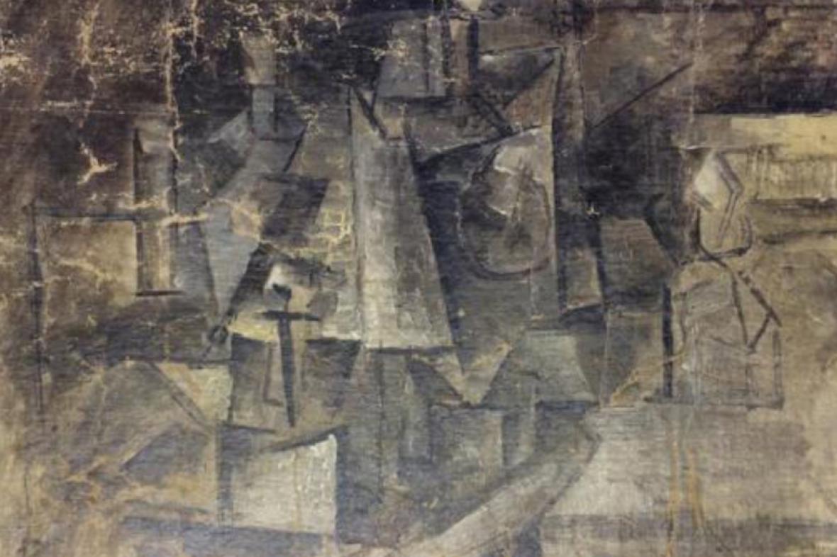 Picassův zmizelý obraz byl nalezen jako dárek za 30 dolarů
