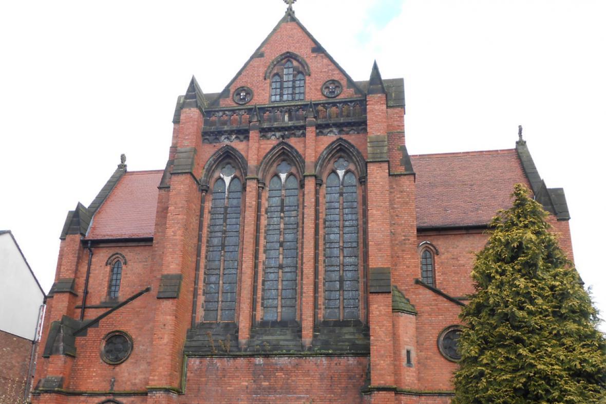 Liverpoolský kostel sv. Anežky a Pankráce