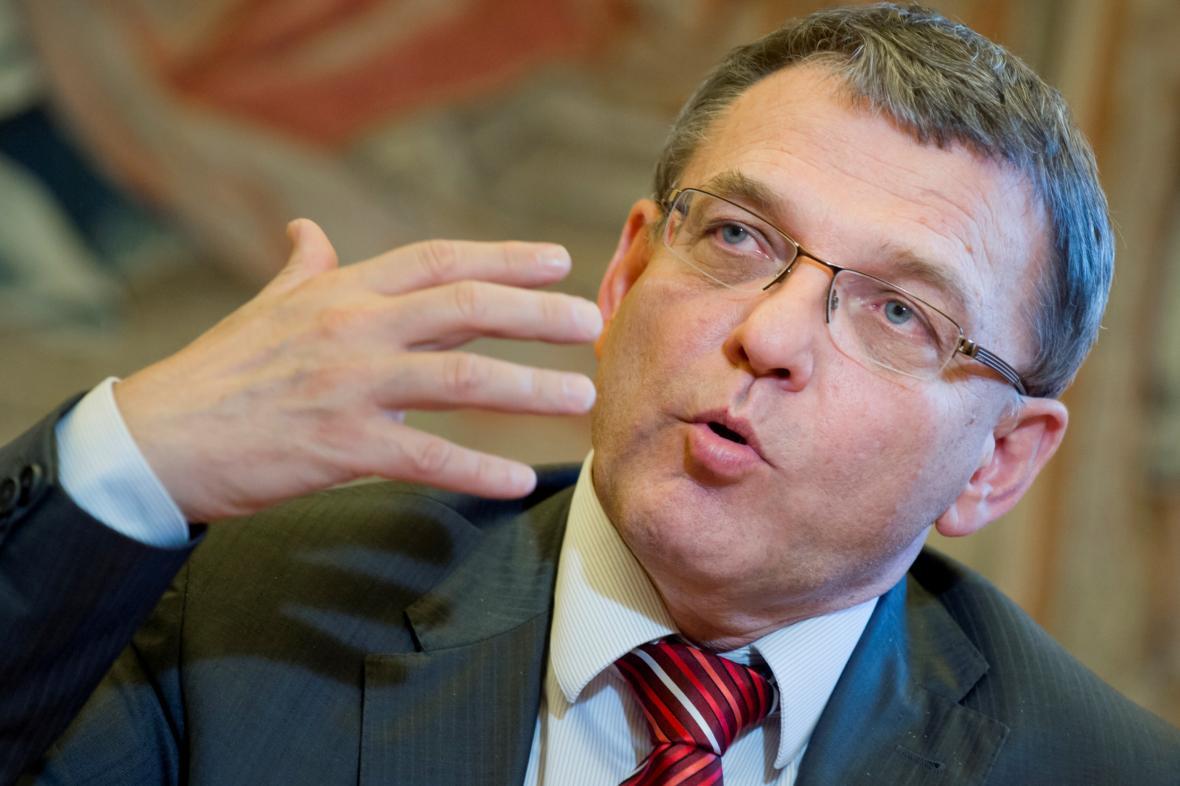 Ministr zahraničních věcí Lubomír Zaorálek