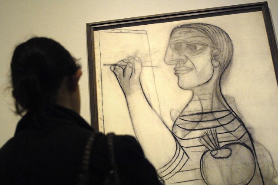Picassův autoportrét