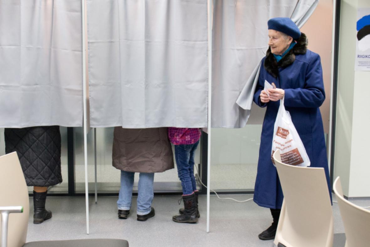 Estonské parlamentní volby