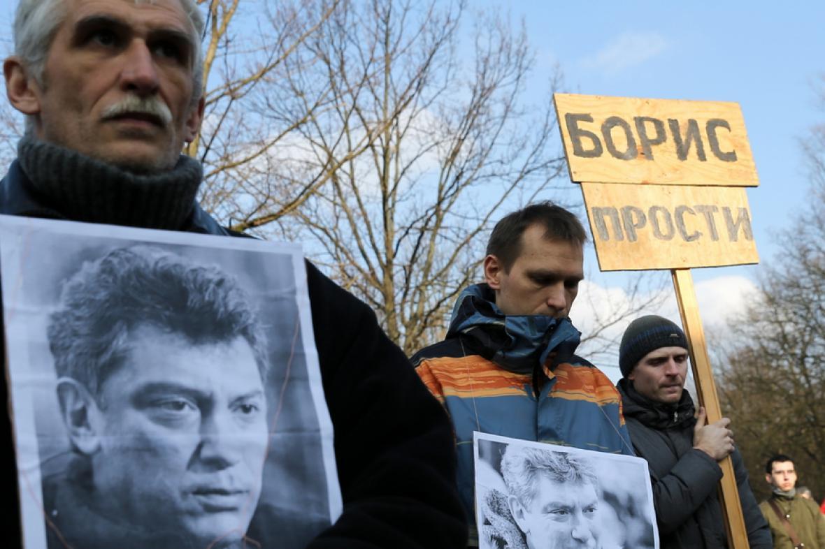 Pochod za zavražděného Borise Němcova