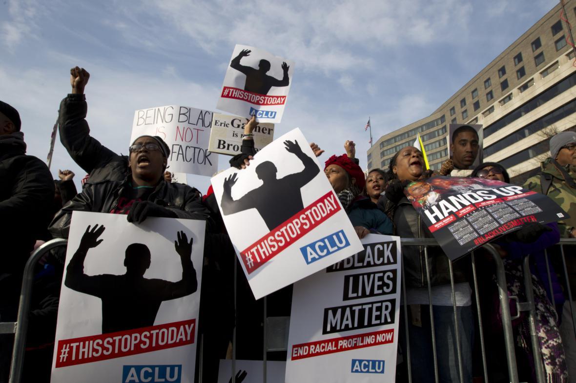 Protesty proti policejnímu násilí