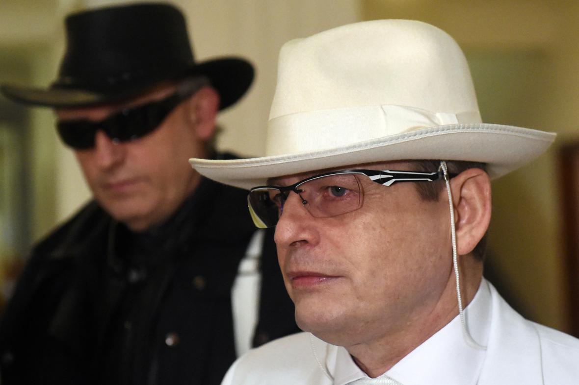 Obžalovaný Karel Šimko