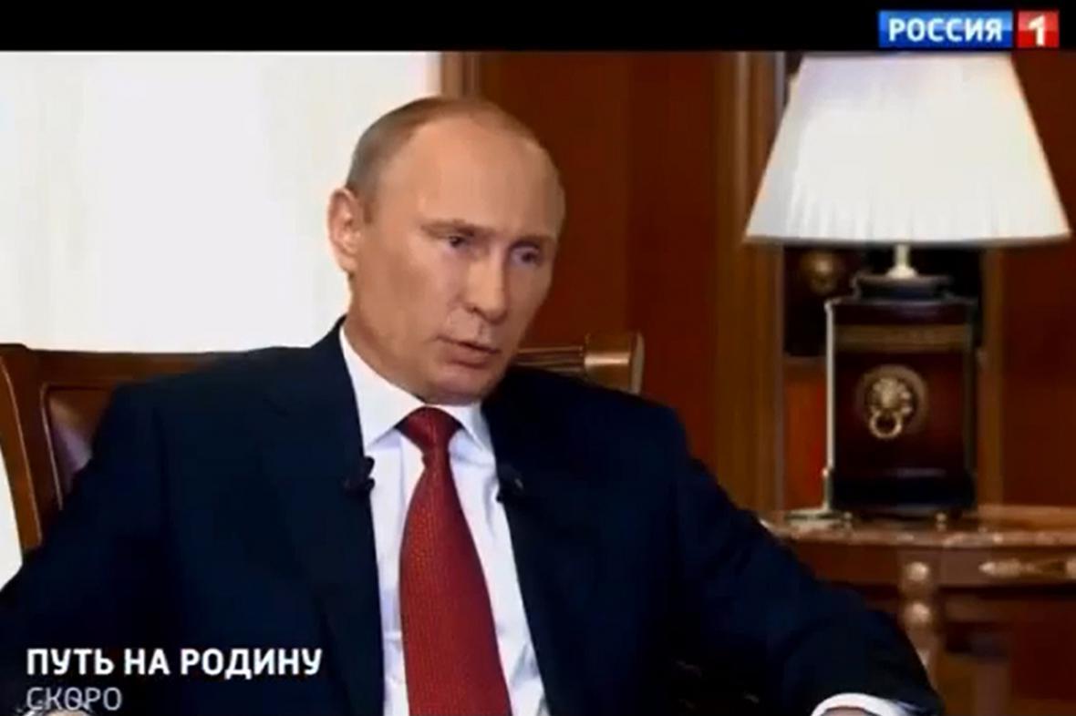 Vladimir Putin v dokumentu Cesta do vlasti