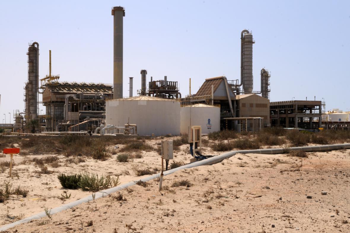 Ropná rafinérie v Libyi