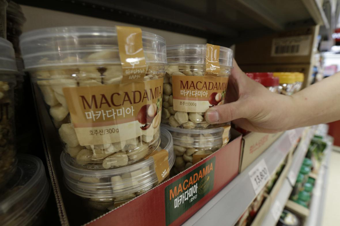 Makadamové oříšky
