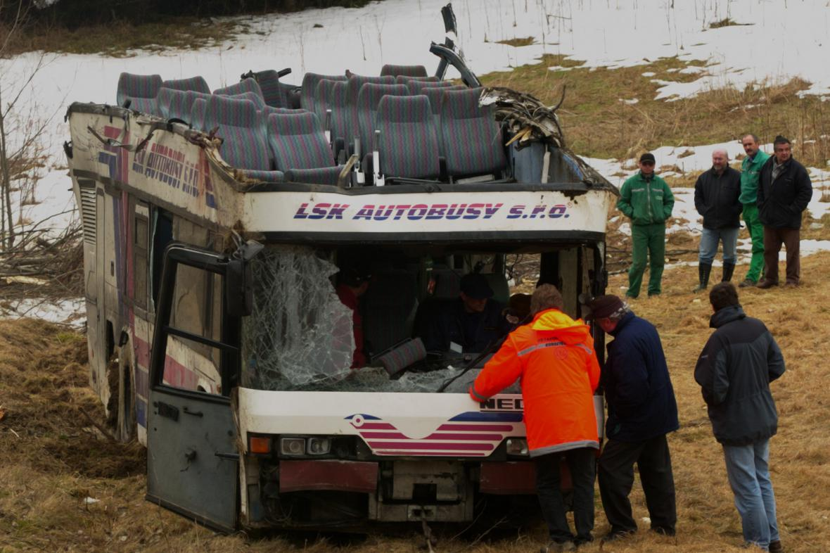 Nehoda u Nažidel