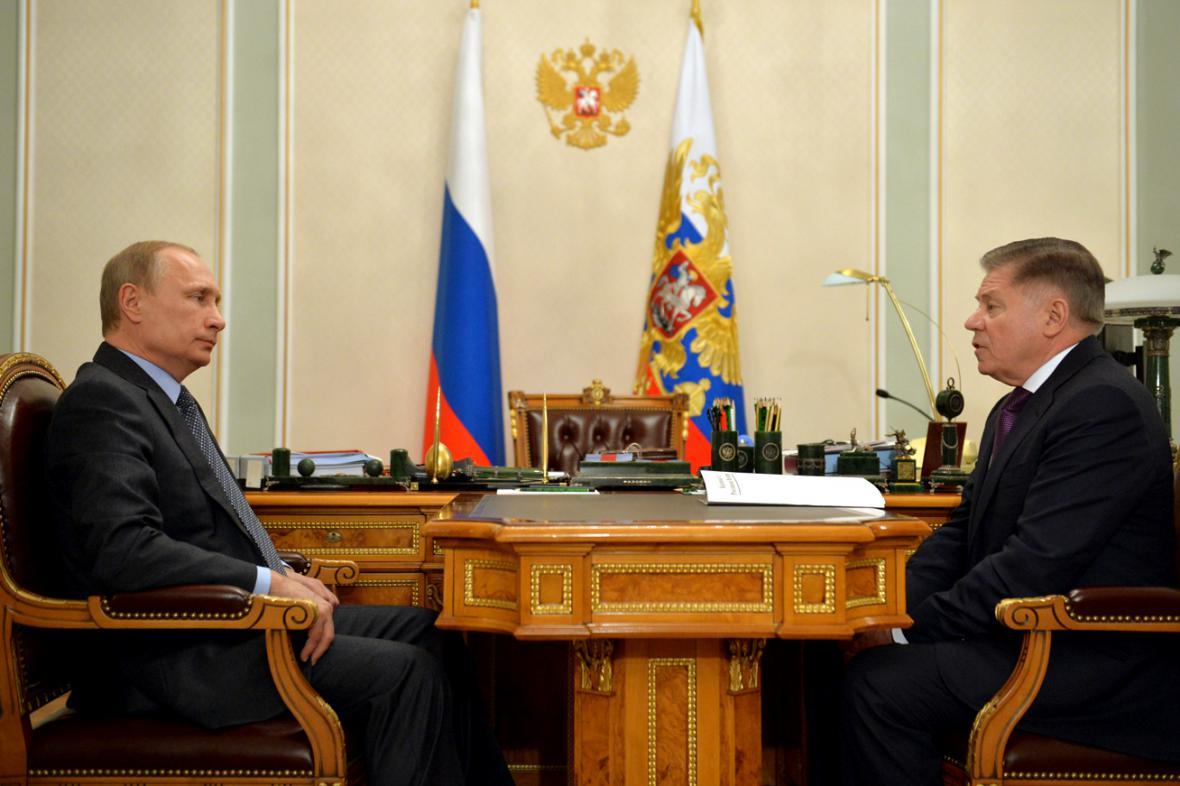 Vladimir Putin a Vjačeslav Lebeděv