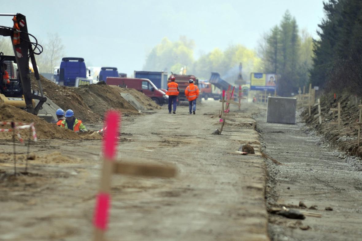 Oprava na dálnici D1