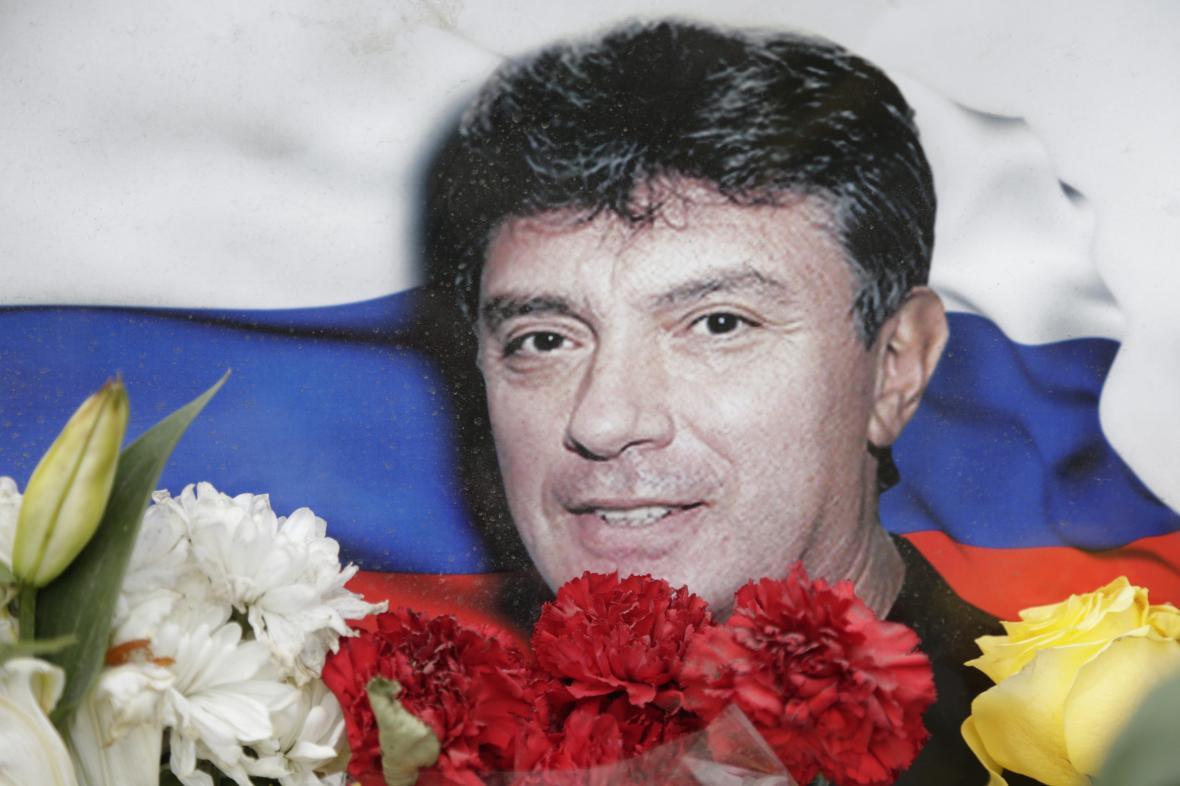 Zavražděný ruský politik Boris Němcov