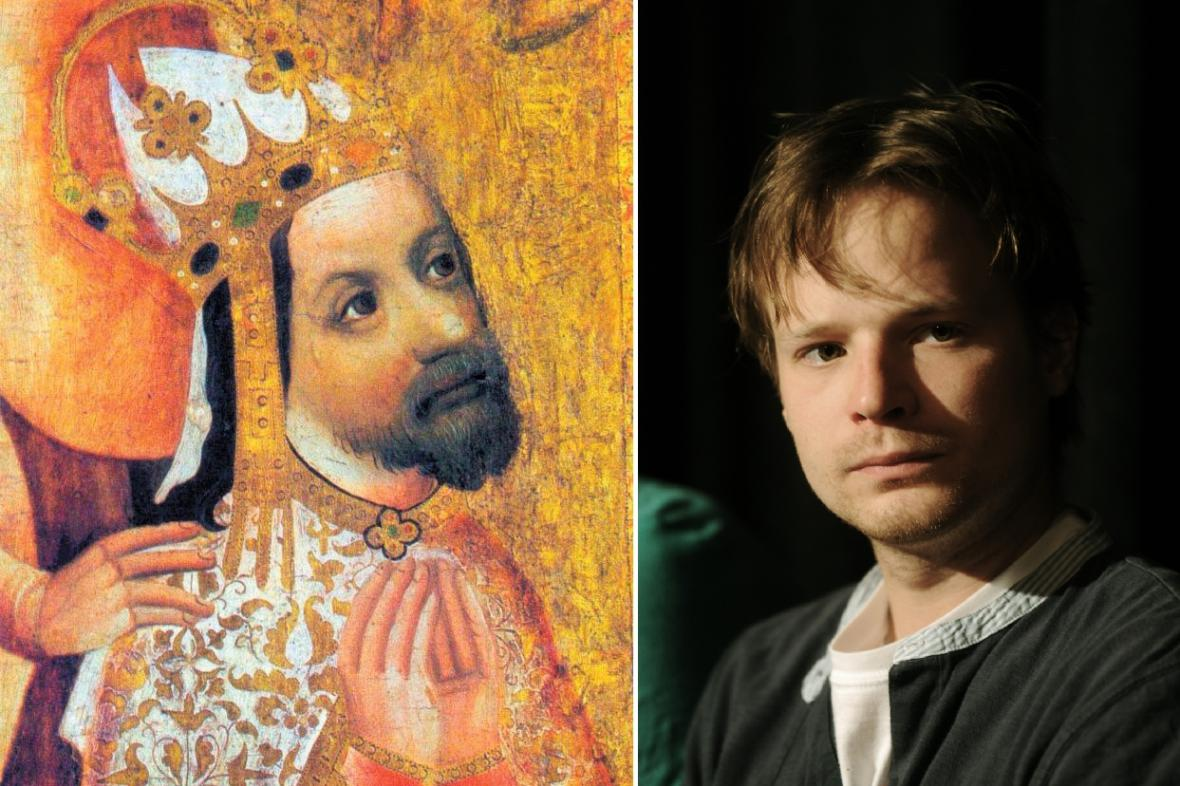 Kryštof Hádek si zahraje mladého Karla IV.